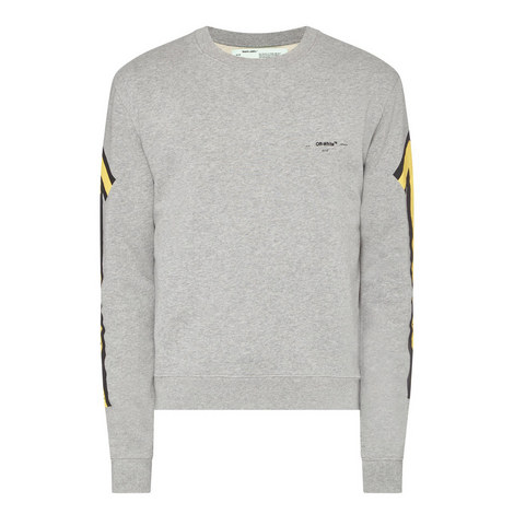 Arrow Print Sweatshirt, ${color}