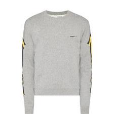 Arrow Print Sweatshirt