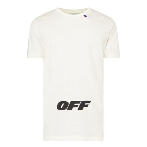 Logo Print Slim Fit T-Shirt, ${color}
