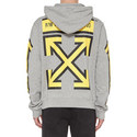 3D Arrow Print Hoodie, ${color}