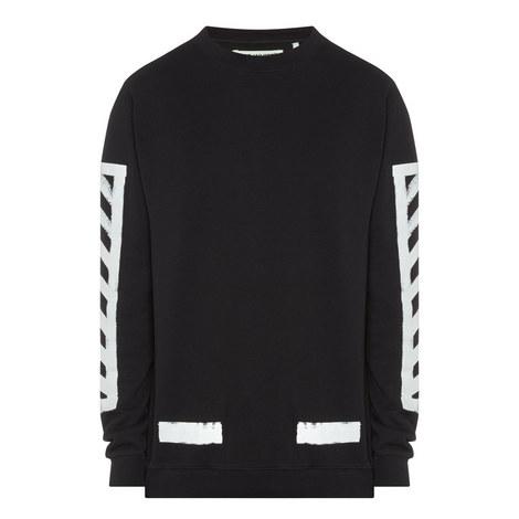 Print Jersey Sweatshirt, ${color}