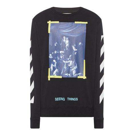 Caravaggio Crew Neck Sweatshirt, ${color}