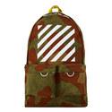 Diagonal Stripe Backpack, ${color}