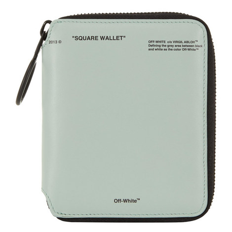 Square Zip-Around Wallet, ${color}