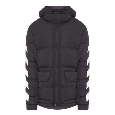 Diagonal Stripe Down Jacket, ${color}