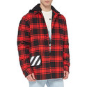 Padded Check Hoodie, ${color}