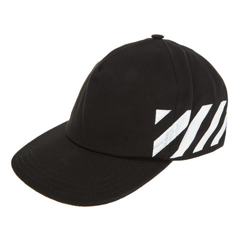 Diagonal Stripe Baseball Cap , ${color}