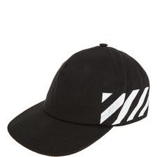 Diagonal Stripe Baseball Cap