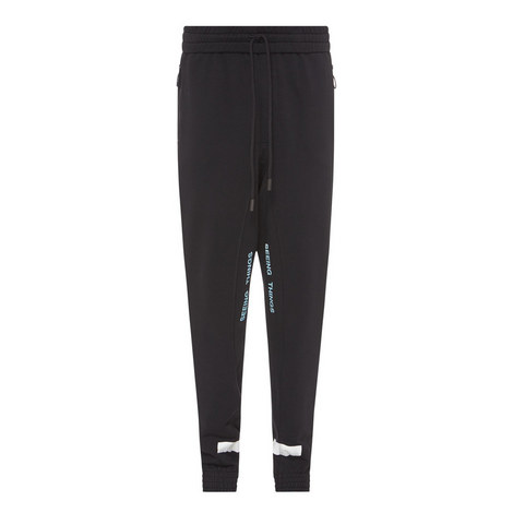 Diagonal Stripe Sweatpants, ${color}