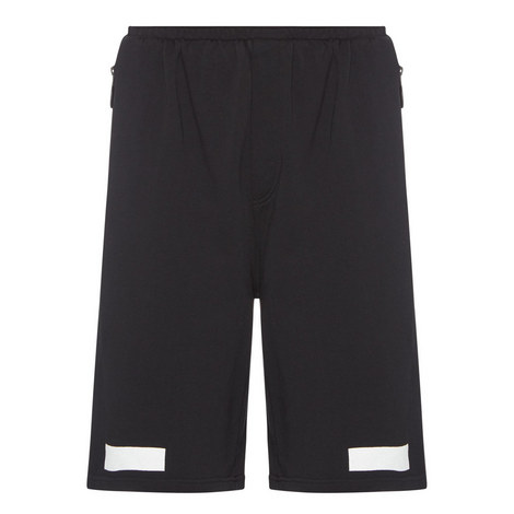 Diagonal Stripe Shorts, ${color}