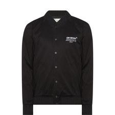 Helvetica Varsity Jacket