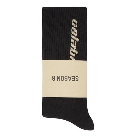 Three-Pack Calabasas Socks, ${color}