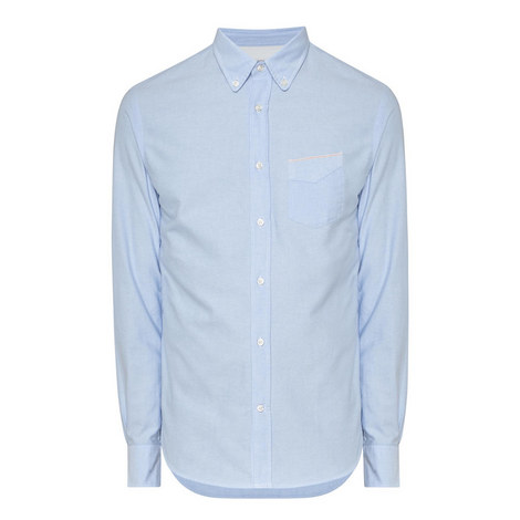 Oxford Selvage Long Sleeve Shirt , ${color}
