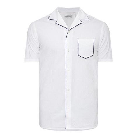 Piping Seersucker Shirt, ${color}