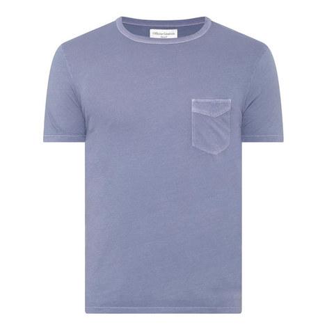 Pocket Crew Neck T-Shirt, ${color}