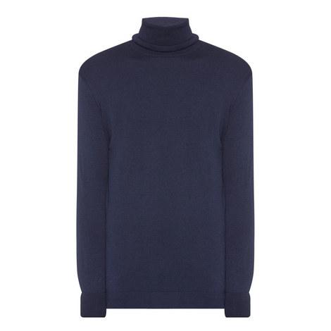 Merino Wool Roll Neck Sweater, ${color}