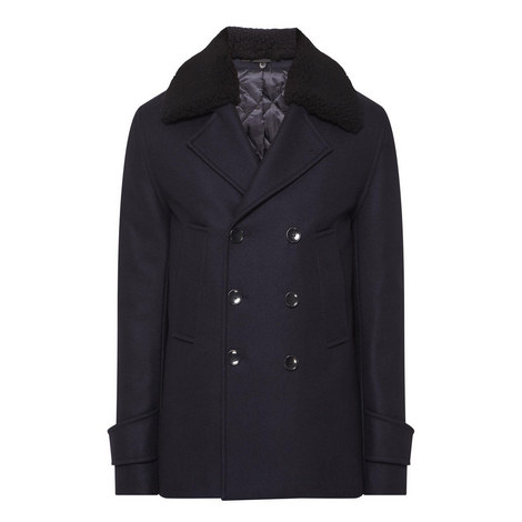 Melton Wool Peacoat, ${color}