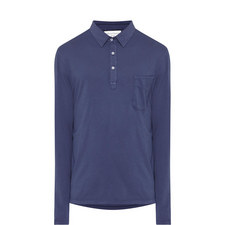 Long Sleeve Jersey Polo Shirt