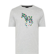 Zebra Block Print T-Shirt