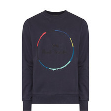 Circle Print Sweatshirt