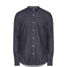 Tailored Fit Denim Shirt