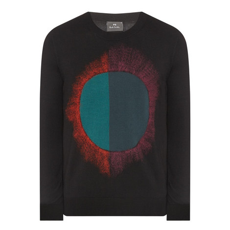 Abstract Circle Sweater , ${color}