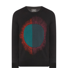 Abstract Circle Sweater