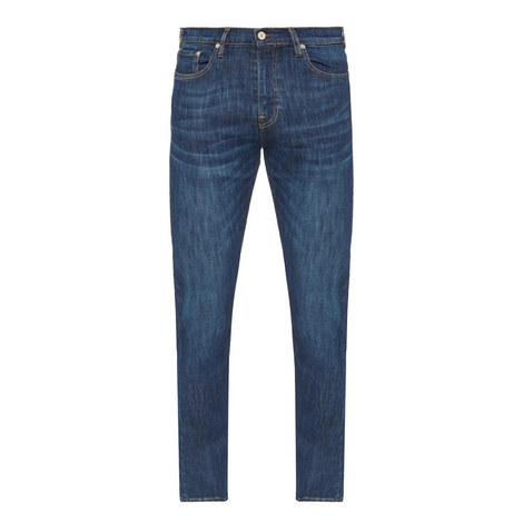 Taper Stretch Jeans, ${color}
