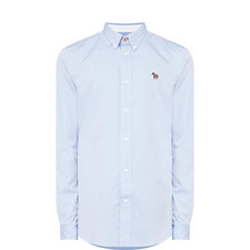 Zebra Appliqué Oxford Shirt