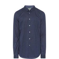 Polka Dot Slim Fit Shirt