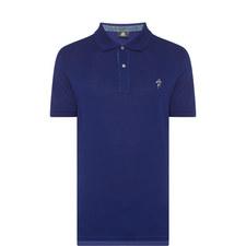 Spaceman Embroidered Polo Shirt