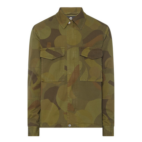 Camouflage Shirt Jacket, ${color}