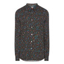 Floral Dot Tailored Fit Shirt , ${color}