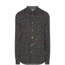 Floral Dot Tailored Fit Shirt