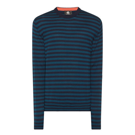 Striped Wool Sweater, ${color}