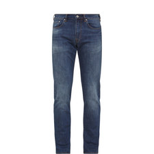 Tapered Denim Jeans