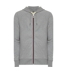 Stripe Zip-Through Hoodie