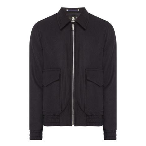 Woollen Bomber Jacket, ${color}