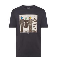 Line-Up Photo Print T-Shirt