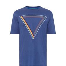Striped Triangle T-Shirt