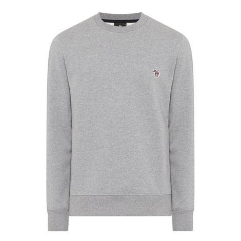 Zebra Logo Sweatshirt, ${color}