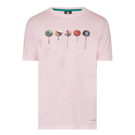 Lollipop Print T-Shirt , ${color}
