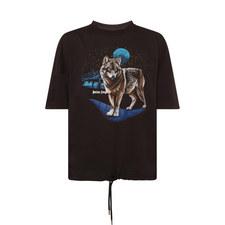 Wolf Crew Neck T-Shirt