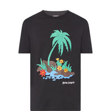 Island Print T-Shirt