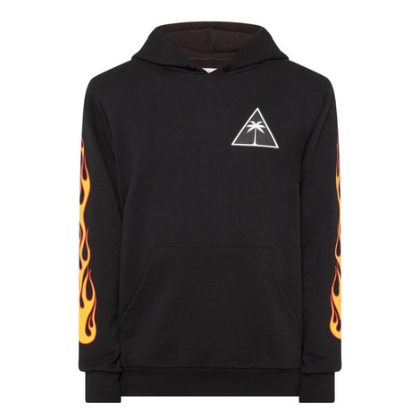Palm Flames Hoodie, ${color}