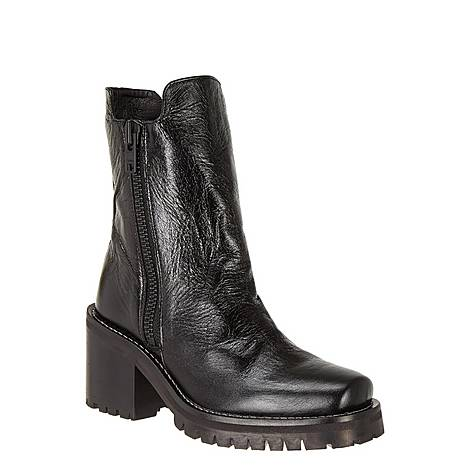 High Rise Leather Boots, ${color}