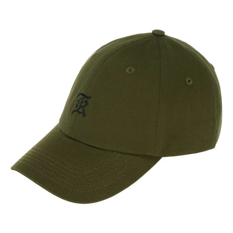 Embroidered Gothic Logo Cap, ${color}