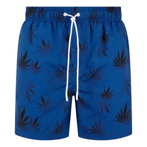 Floral Print Shorts, ${color}