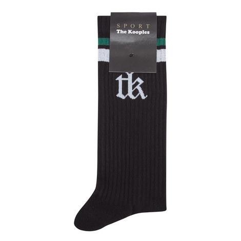 Logo Side Socks, ${color}