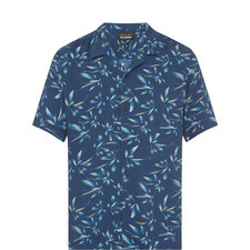 Contemporary Print Hawaiian Shirt